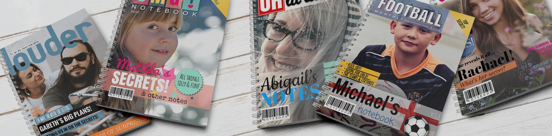 Magazine Notebooks