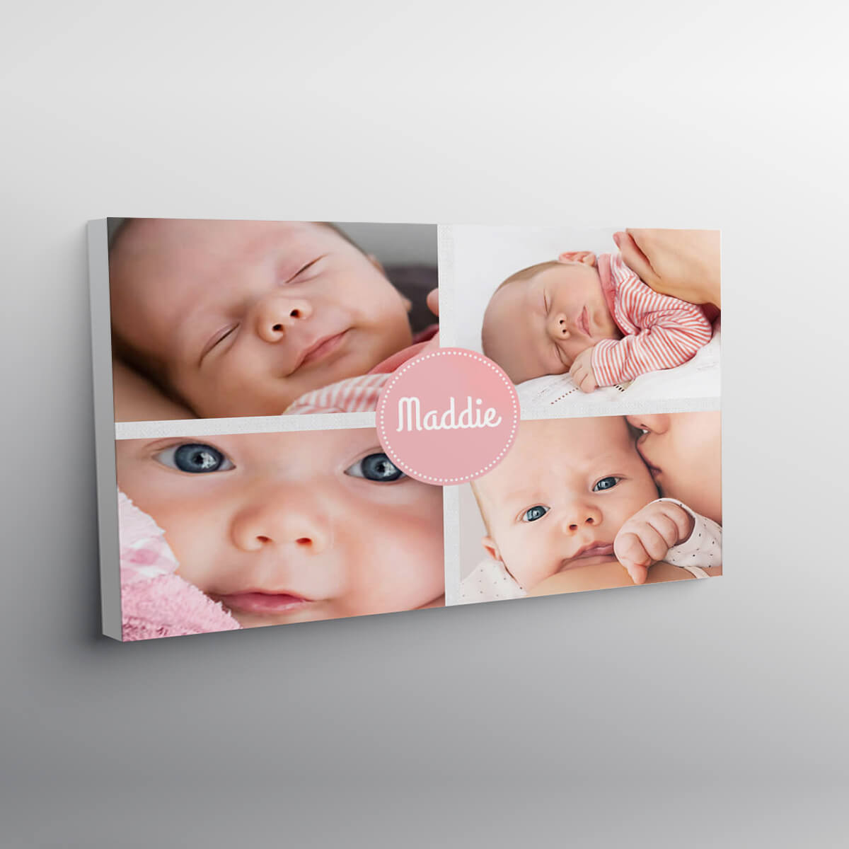 """personalised 16x24"""" Collage Canvas"""