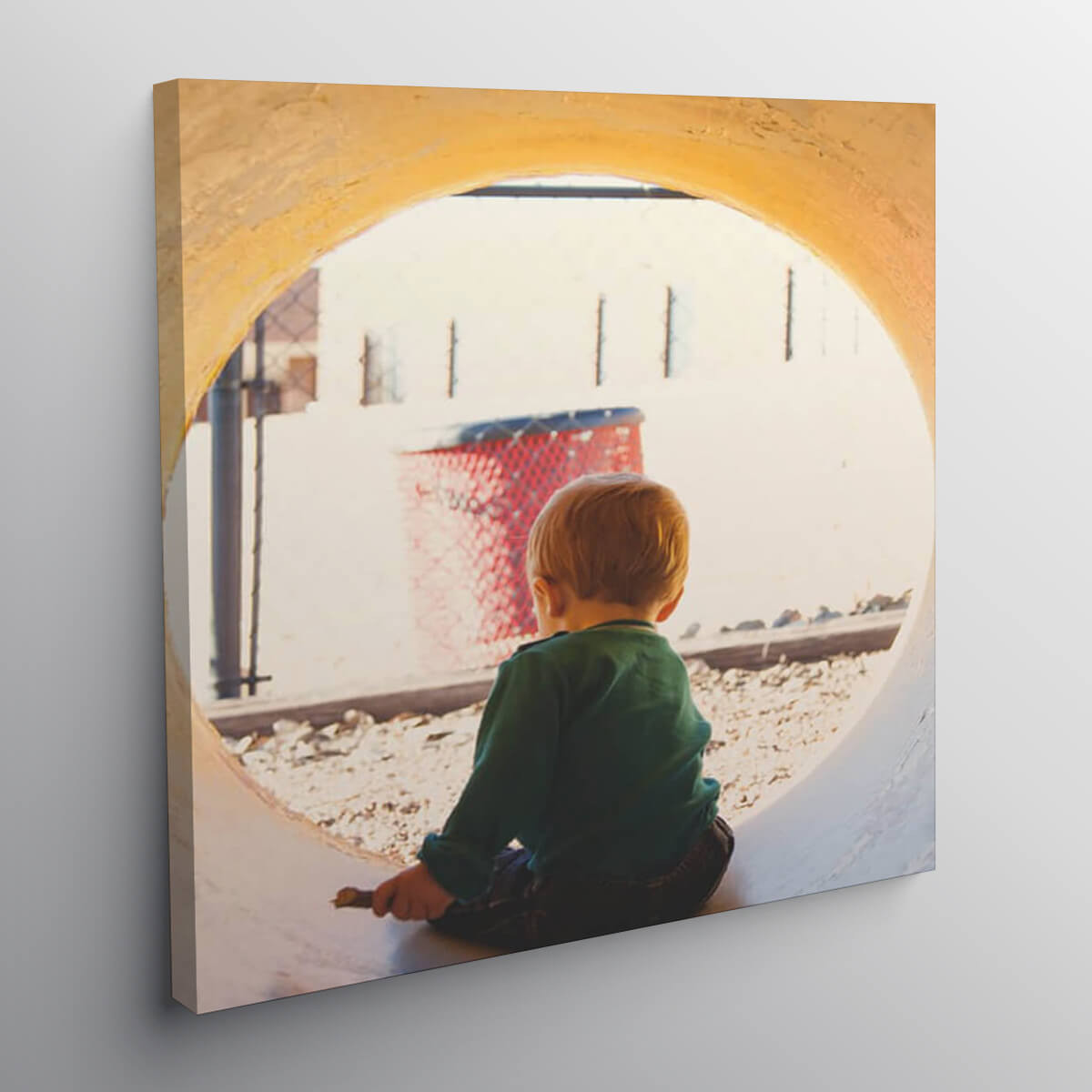 """Personalised 32x24"""" Photo Canvas"""