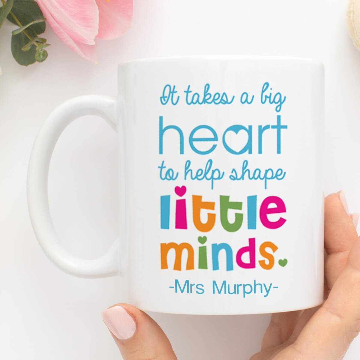 Personalised It Takes a Big Heart Mug Durham
