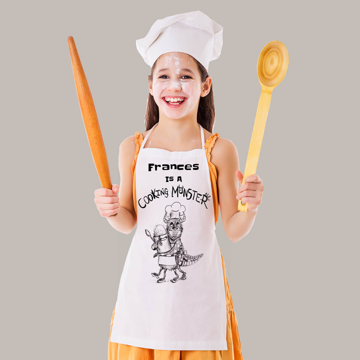 Personalised Monster Apron