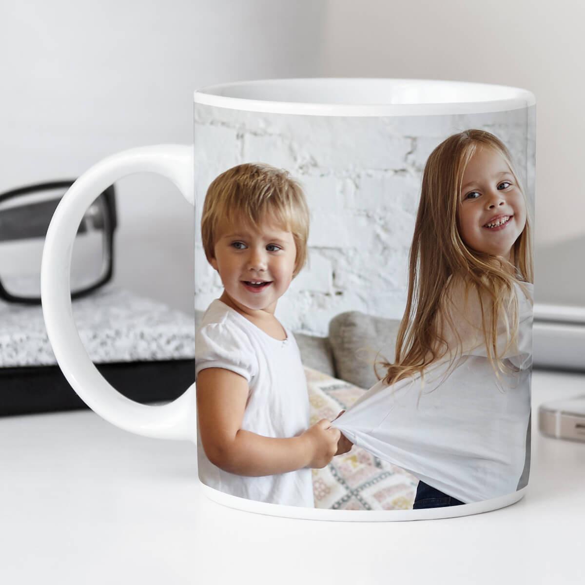 personalised Full Wrap Photo Mug