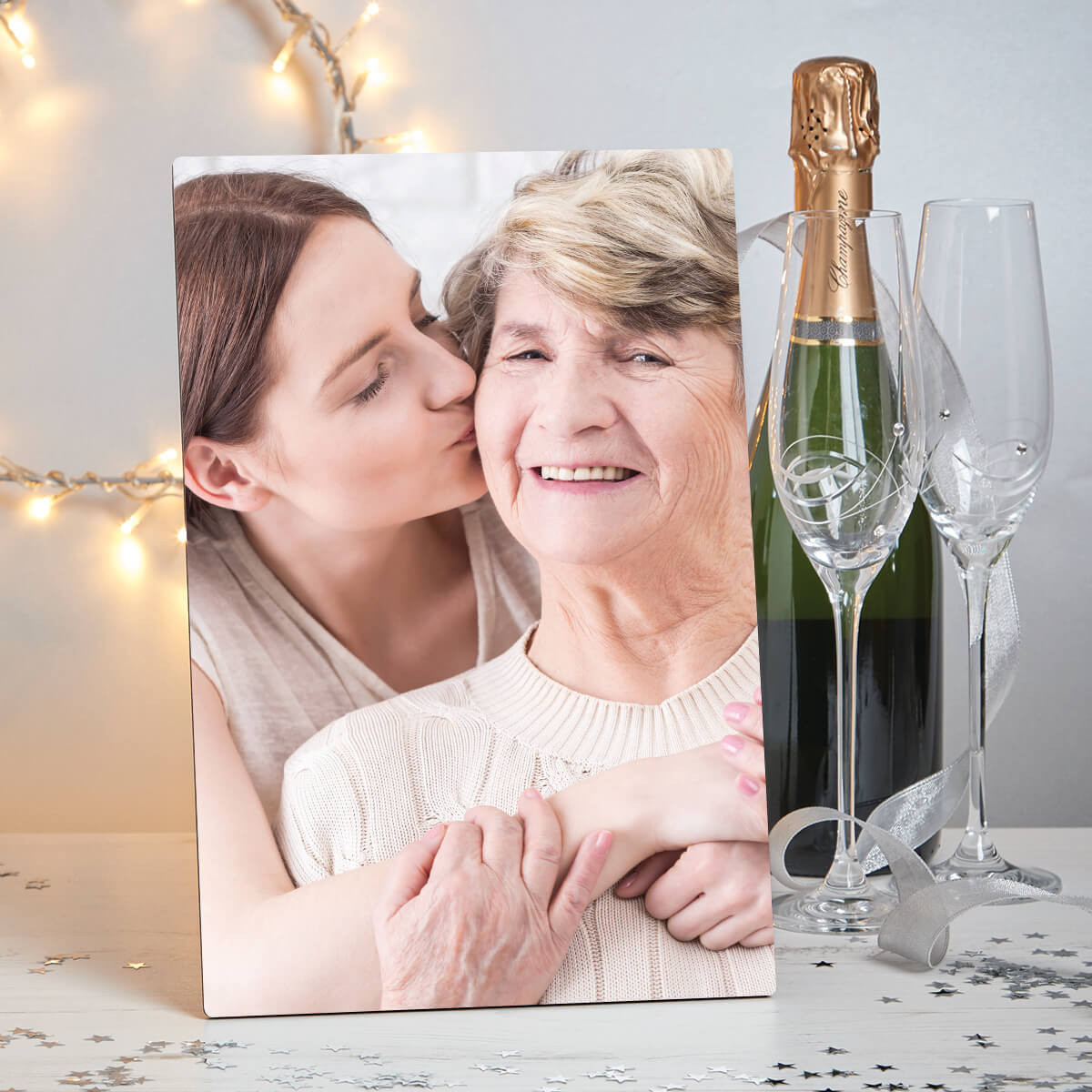 "Personalised Grandma Freestanding Photo Block (8x11"")"