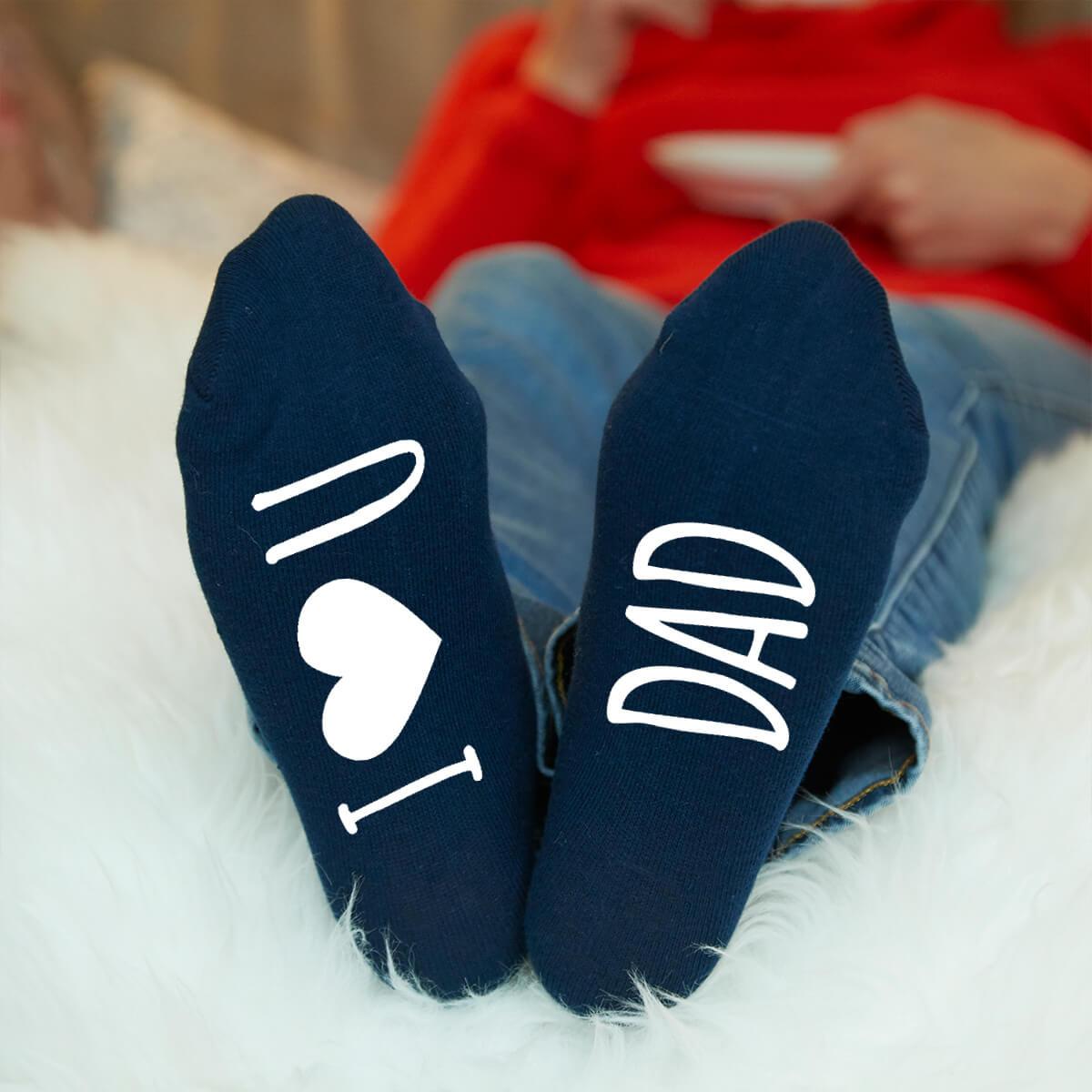 I Heart You Personalised Socks