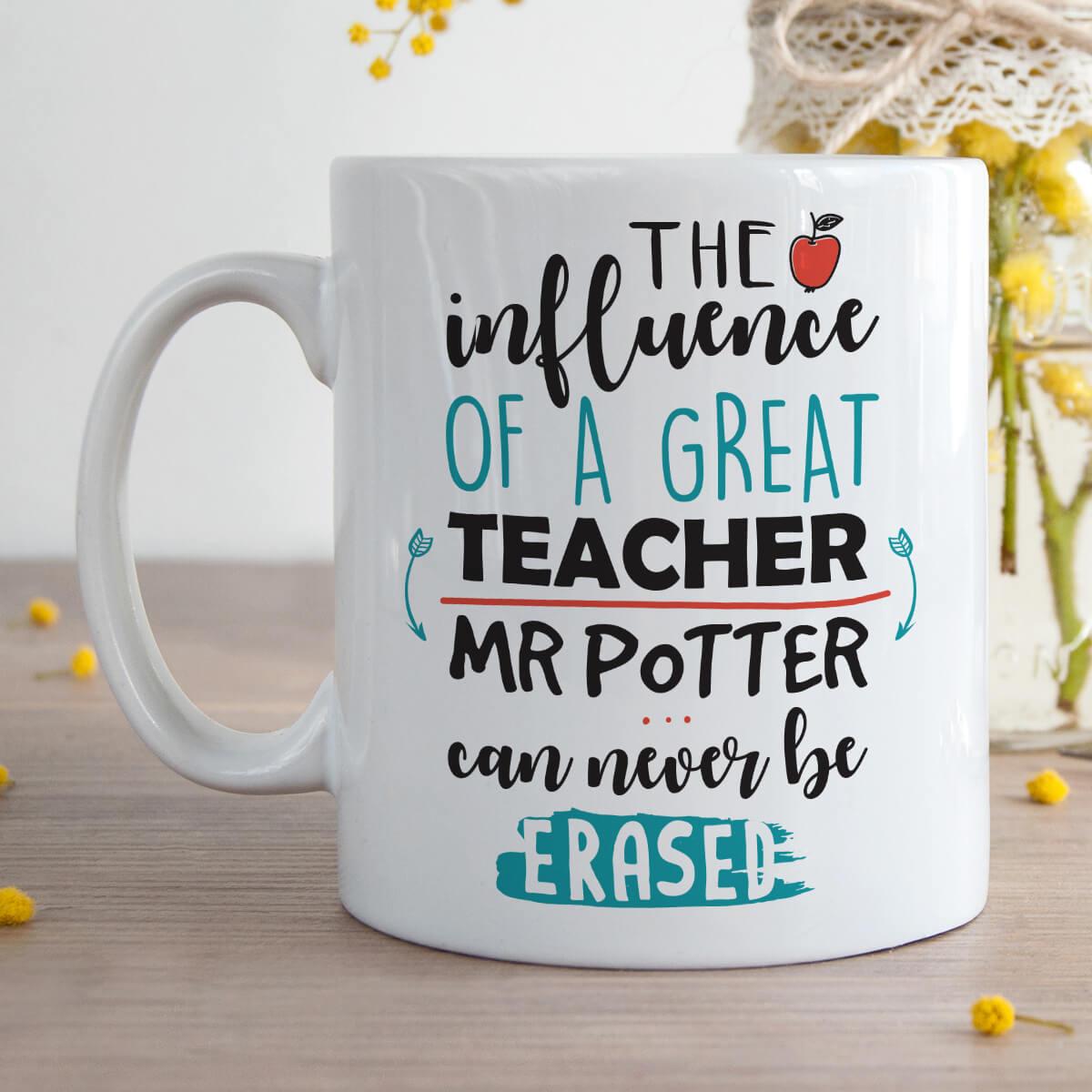 Influence Of A Great Teacher Mug