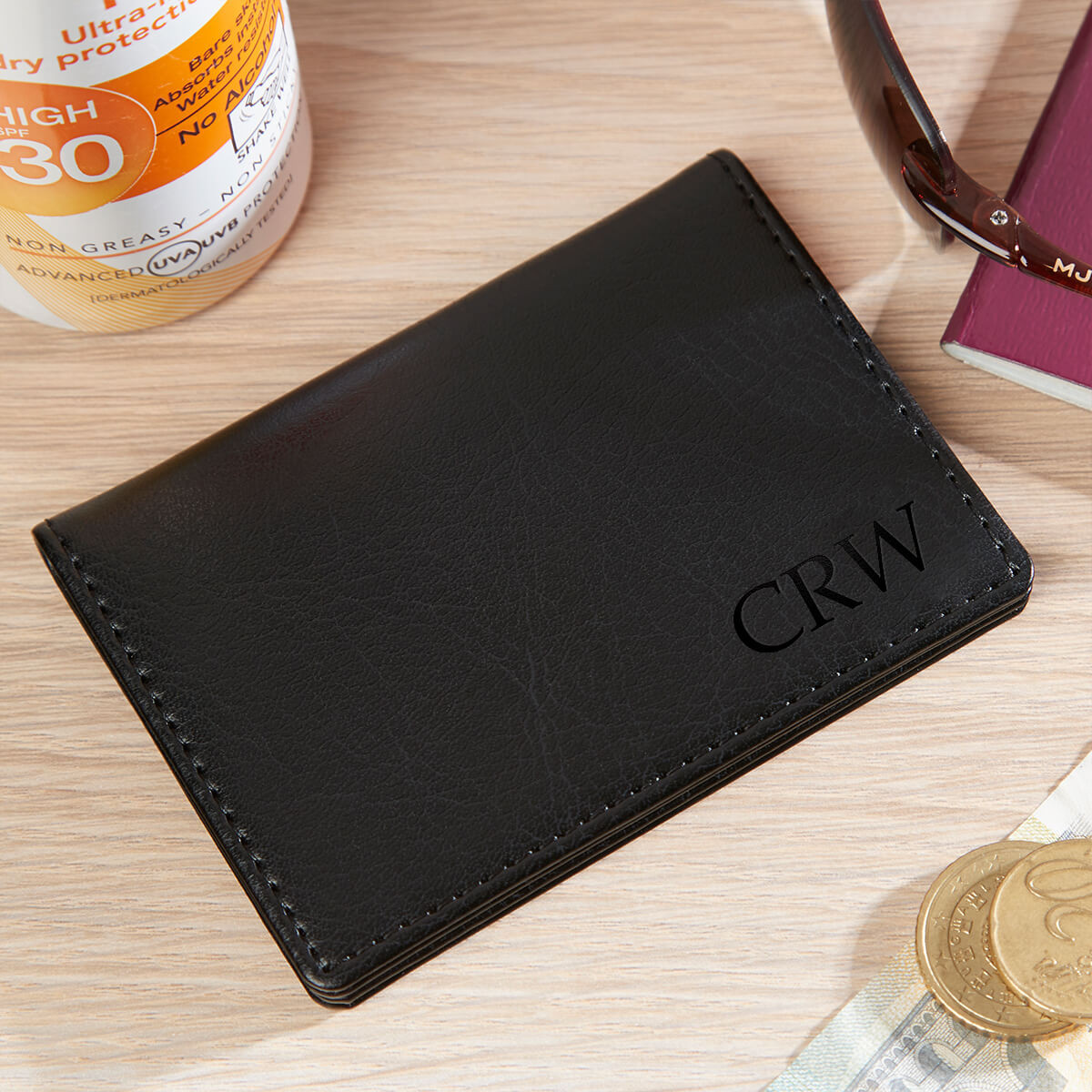 personalised oyster card holder