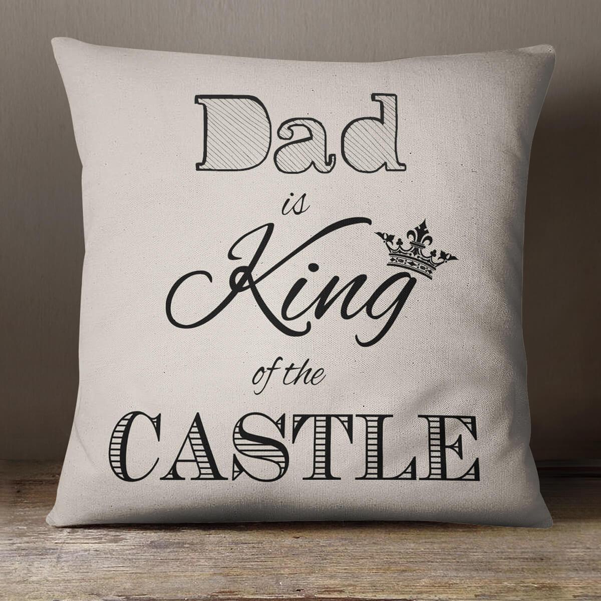 personalised King Cotton Cushion