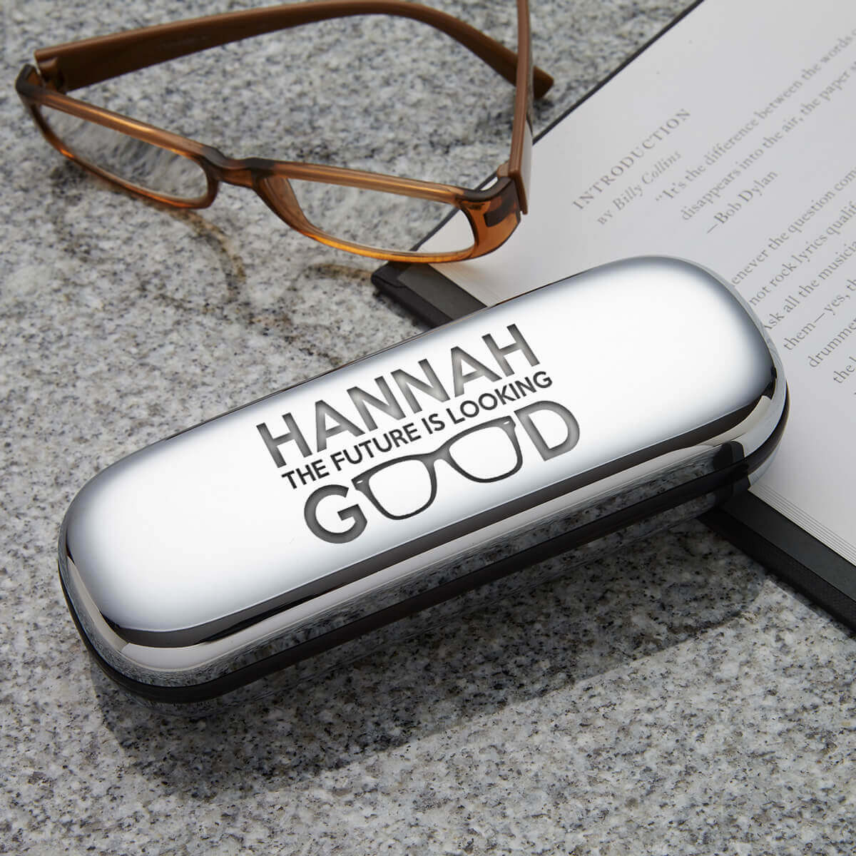 personalised looking good glasses case
