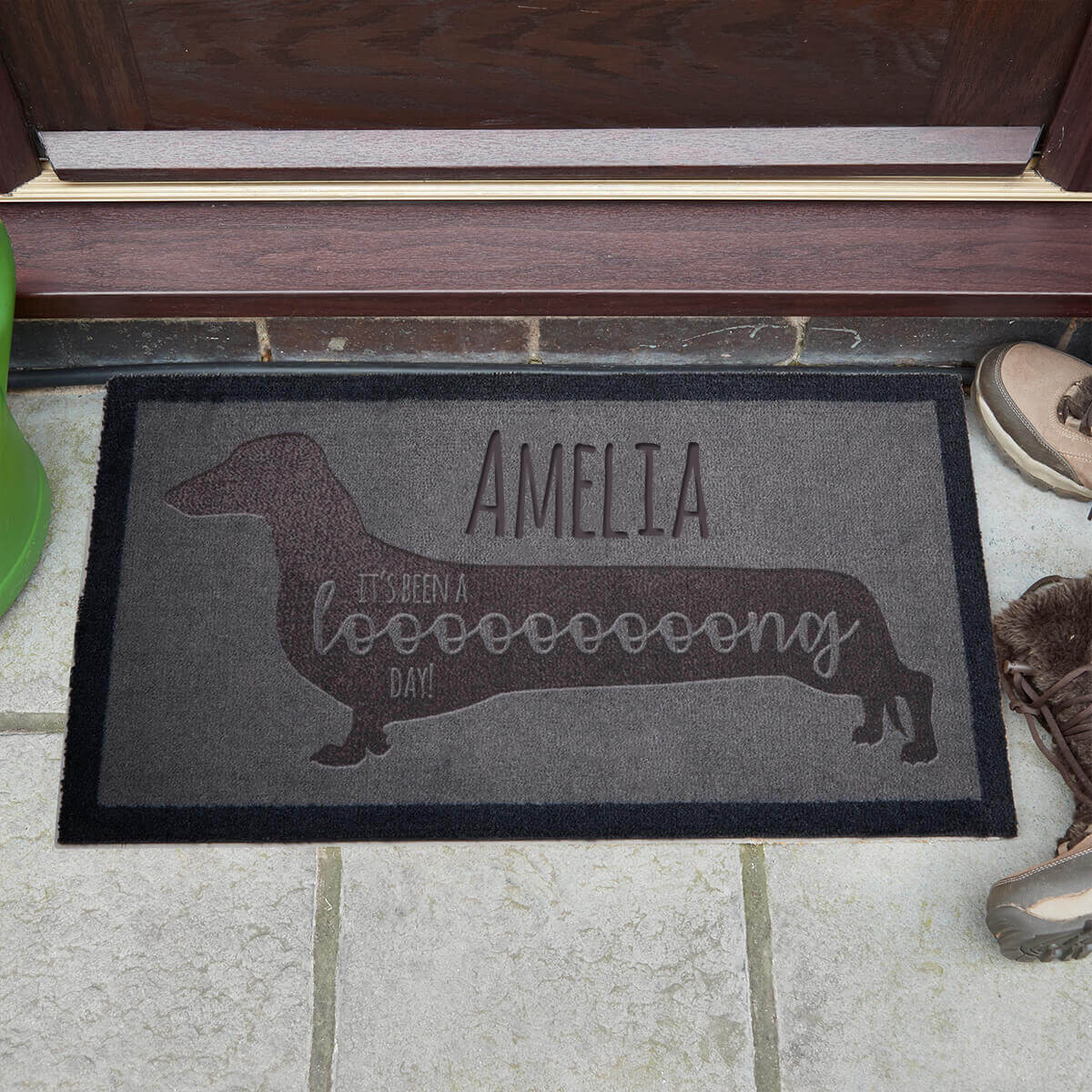 personalised Been a Long Day Doormat