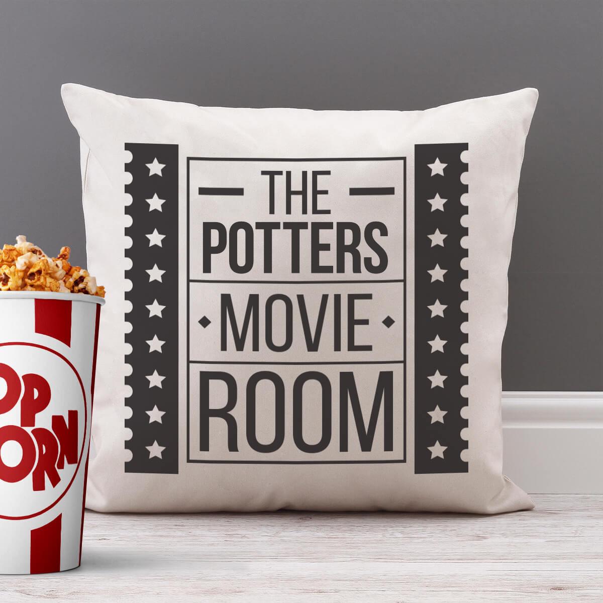 personalised Movie Ticket Cushion