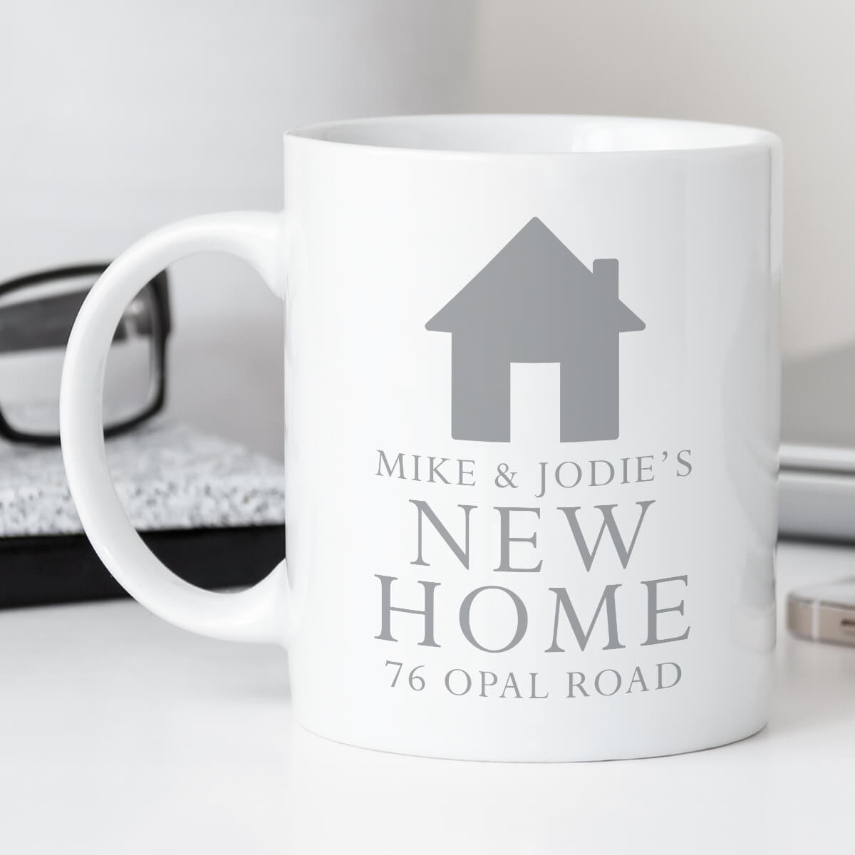 Personalised New Home Mug