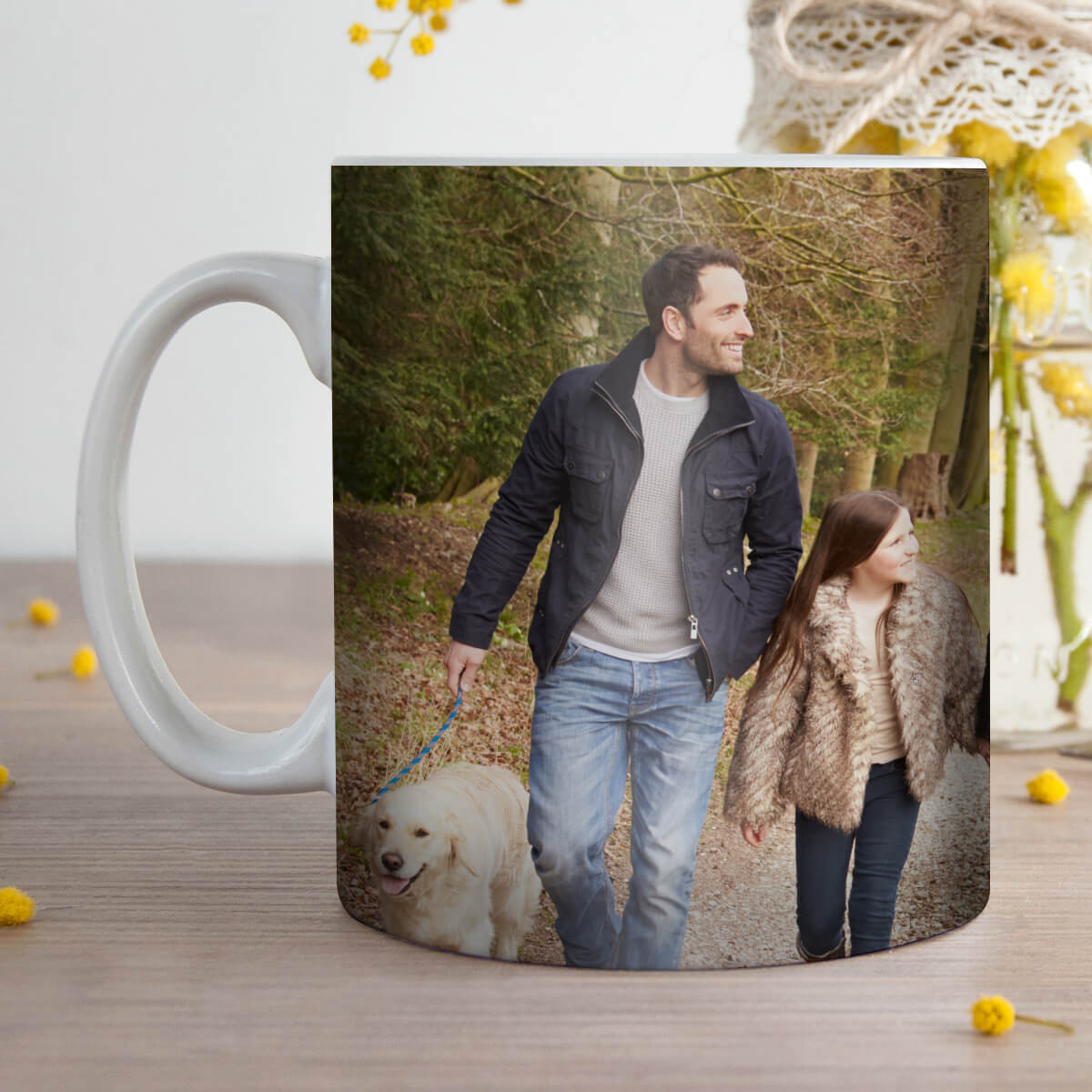 personalised Panorama Photo Mug