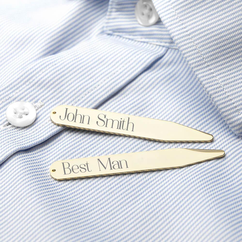 Personalised collar stiffeners