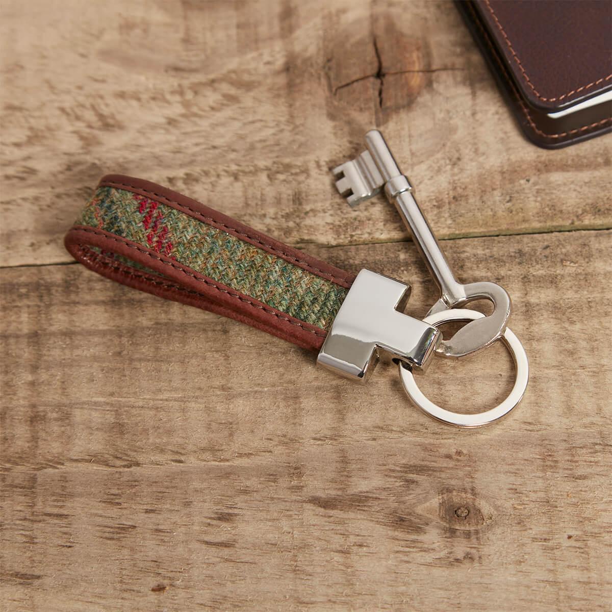 Tweed Loop Keyring