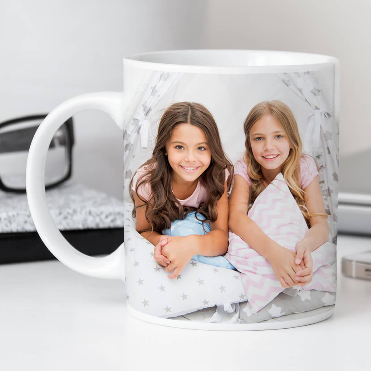 personalised Simple Photo Upload Mug