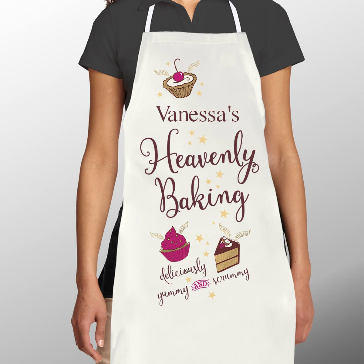 Heavenly Baking Women's Personalised Apron