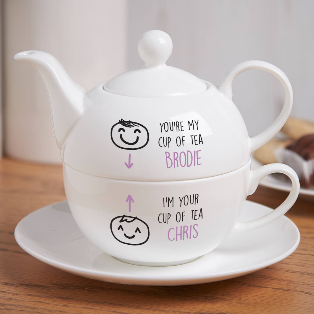Personalised You're My Cup Of Tea For One Tea