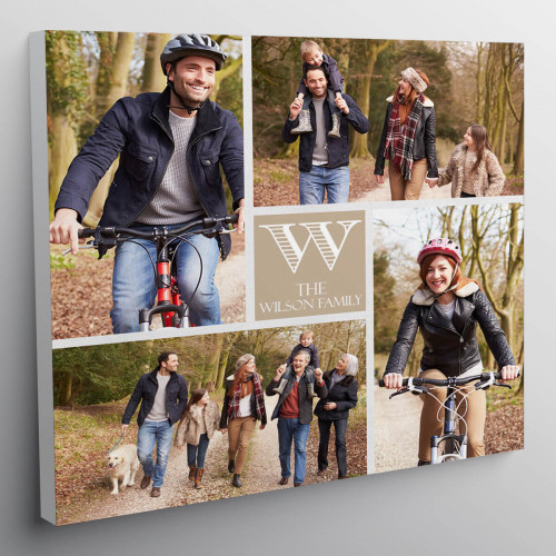 personalised 12x12 Collage Canvas