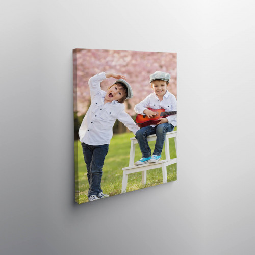 """personalised 12x8"""" Canvas"""