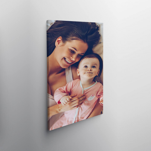 """Personalised 24x12"""" Photo Canvas"""