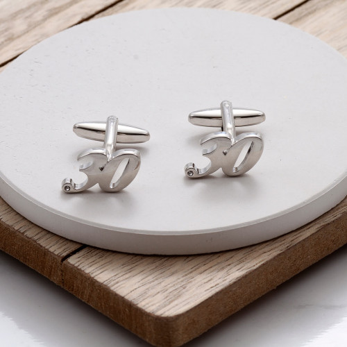 personalised 30 Cufflinks Gift Set