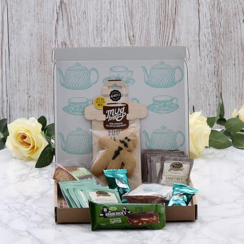 Personalised Afternoon Tea Letterbox Hamper