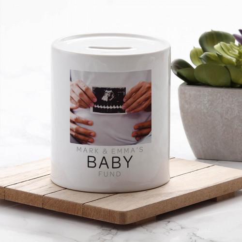 Personalised Baby Fund Money Box
