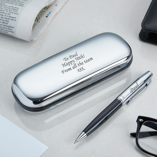 personalised Ball Pen & Case