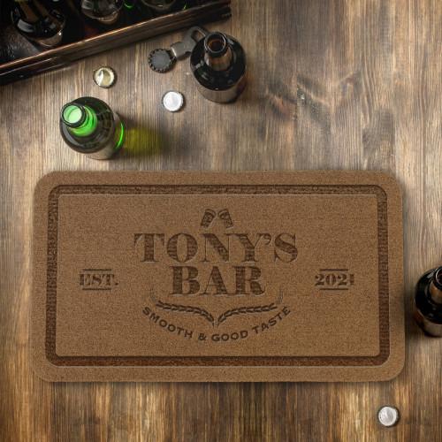 personalised Bar Outdoor Engraved Doormat