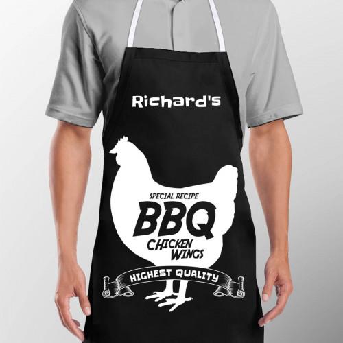 BBQ Chicken Black Apron
