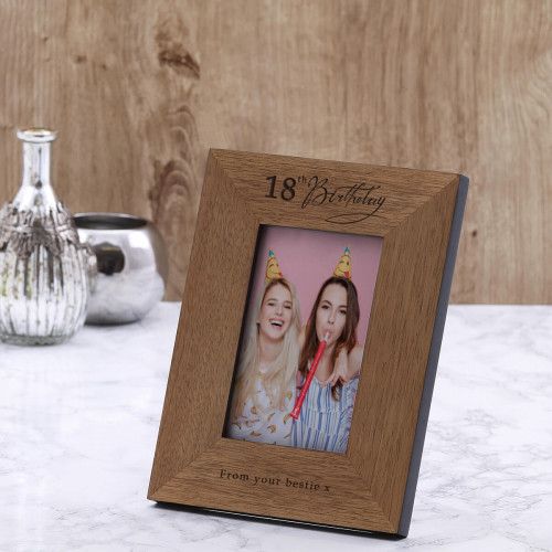 personalised birthday frame