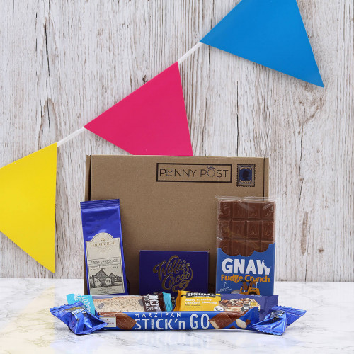 Personalised Choc Lover Letterbox Hamper