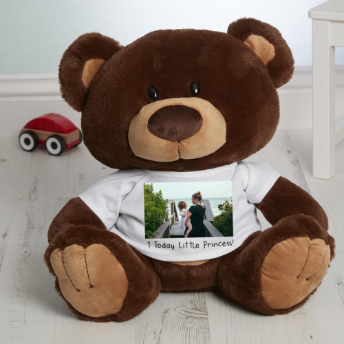 personalied Photo Charlie Bear