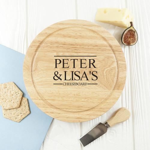 Couple Cheese Board