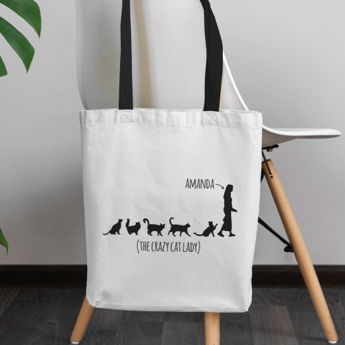personalised The Best Horse in the World Canvas Tote Bag