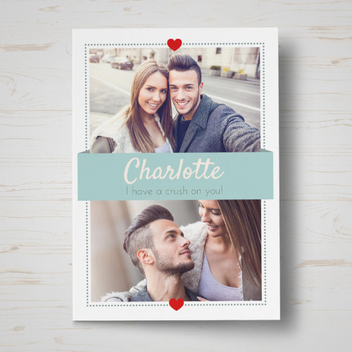 Crush on you Valentine's Card