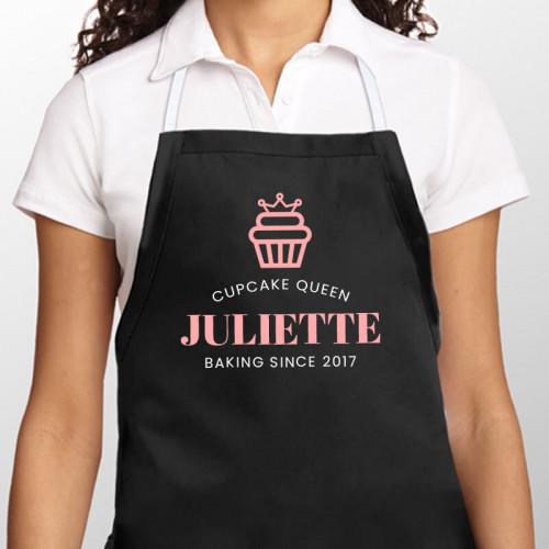 personalised Cupcake Queen Apron