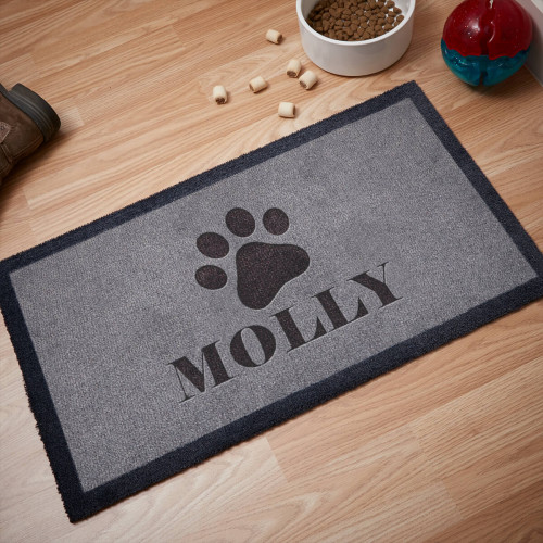 personalised dog doormat