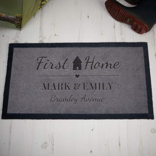 Personalised First Home Doormat