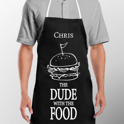 Personalised The Food Dude Apron