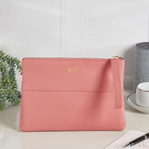 personalised Courtney Handbag Coral
