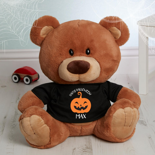 personalised halloween bear