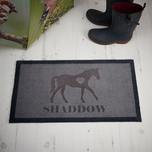 personalised Horse Doormat