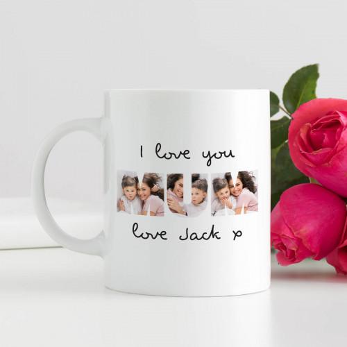 Personalised Photo Durham Mug