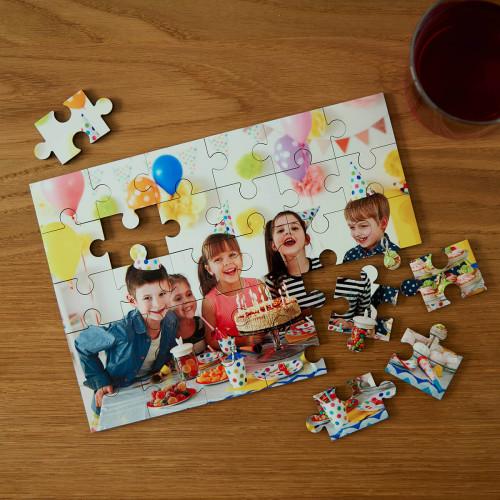 Personalised Photo Upload 30 Piece Jigsaw Puzzle