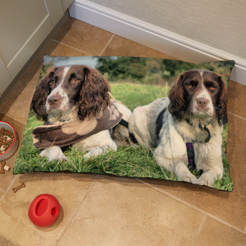 personalised Medium Dog Bed