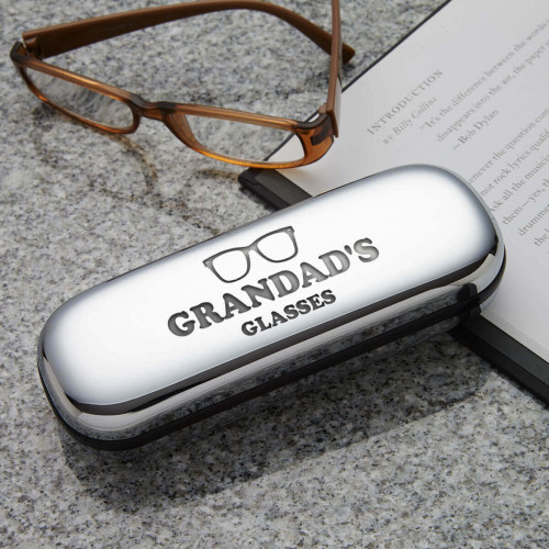 personalised mens glasses case