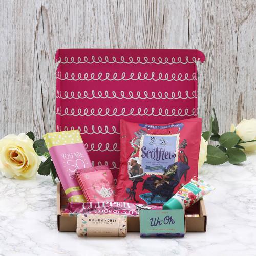 Personalised Pamper Hamper Letterbox Hamper