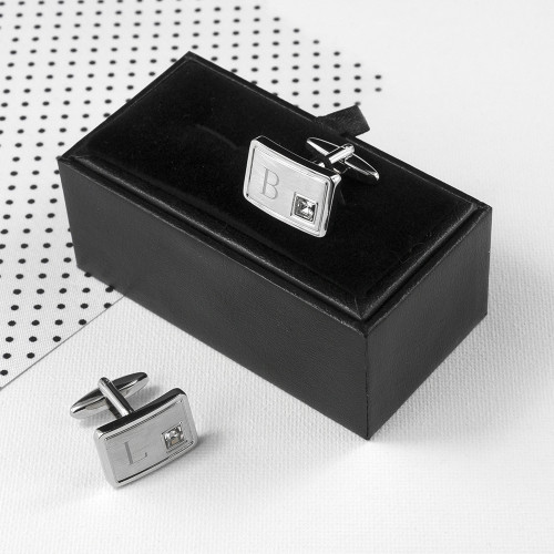 personalised Silver Plated Cufflinks
