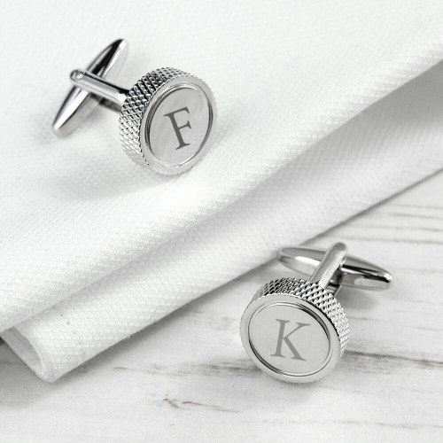 personalised plated cufflinks